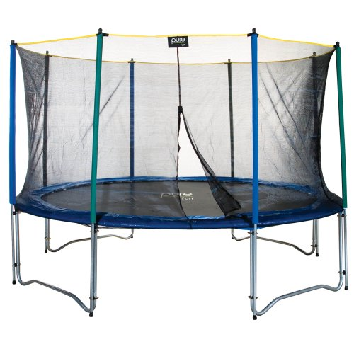 Pure Fun 9012TS 12 Trampoline & Enclosure Set