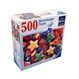 "Ravensburger Puzzle ""CANDY STARS"" 500 Piece Perfect Fit Jigsaw Puzzle"