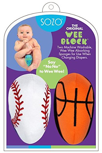 Sozo Baby-Boys Newborn Weeblock Sports Copack, White/Red/Orange/Black, 0-6 Months - 1