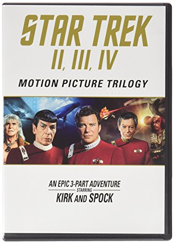 Blu-ray : Star Trek: Motion Picture Trilogy II, III, IV (Repackaged, Widescreen, Dubbed, , Dolby)