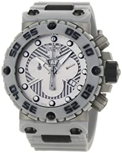 Invicta Men's 0657 Subaqua Collection Nitro Chronograph Grey Polyurethane Watch