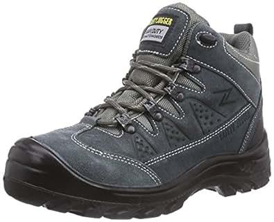 Safety Jogger SATURNUS, Unisex - Erwachsene Arbeits & Sicherheitsschuhe S1, grau, (blk/dgr/mgr 172), EU 36