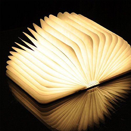 upgraded-excelvan-wooden-folding-usb-rechargeable-book-light-500-lumens-up-to-8-hours-for-decor-desk