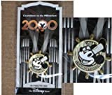 img - for STEAMBOAT WILLIE-Mickey Mouse (#45 in this series) PIN from 'COUNTDOWN TO THE MILLENIUM' Walt Disney collection. In 1999, Disney company produced 100 different character pins from Disney movies & cartoons.Almost all disappeared off shelves quickly & now (almost 10 years later) quite scarce.Pin depicts MICKEY MOUSE in his first screen appearance-still factory sealed in original wrapper, never opened, pristine mint condition book / textbook / text book