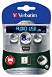 Verbatim Store 'n' Go Audio USB - USB flash drive - 8 GB (Manf Part Code: 43946)
