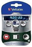 Verbatim Store 'n' Go Audio USB - USB flash drive - 8 GB (Manf Part Code: 43946)