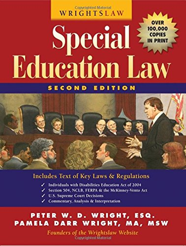 Wrightslaw: Special Education Law, 2nd Edition