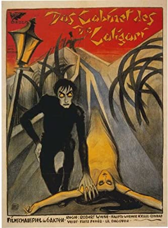 11 x 17 The Cabinet of Dr. Caligari Movie Poster
