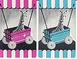 2 Vintage Single Swap Playing Cards Circus Giraffes