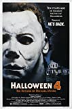 """Holloween 4 The Return Of Mickael Myers"" Limited Edition Oscar Movie Poster Display"