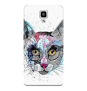 The Fappy Store cats plastic back cover for Xiaomi redmi mi 4