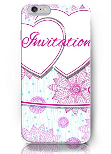 Ouo New Unique Hard Cover For 5.5 Inch Screen Iphone 6 Plus Case With Design Of Beautiful Invitation Card Gift For Girl