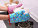 High Quality Microwave Oven Pad heat Proof Hand Gloves Pack of 2 (Color & Design May Vary)