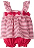 Absorba Baby-Girls Newborn Stripes Creeper