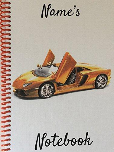 lamborghini-sports-car-personalised-notebook