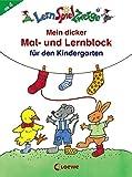 Mein dicker Mal- und Lernblock für den Kindergarten