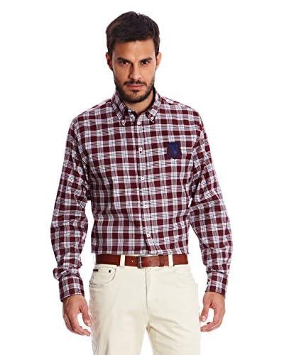 Spagnolo Camisa Hombre Granate