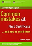 Common Mistakes at First Certificate and how to avoid them