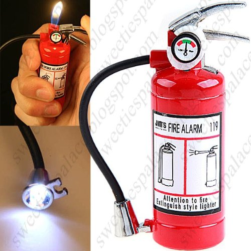 Mini Fire Extinguisher Shaped Lighter