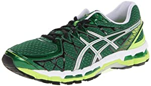 ASICS Men's Gel Kayano 20 Running Shoe,Pine/Lightning/White,12 M US