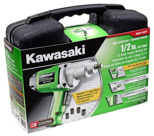 Kawasaki 841426 1/2-Inch Impact 7.5-Amp Wrench