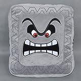 (Apr)- Cute Super Mario Bros Plush Soft Toys Cushion Pillow Thwomp Dossun 13 New