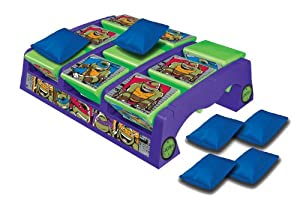 Teenage Mutant Ninja Turtles Toss Across Floor Game