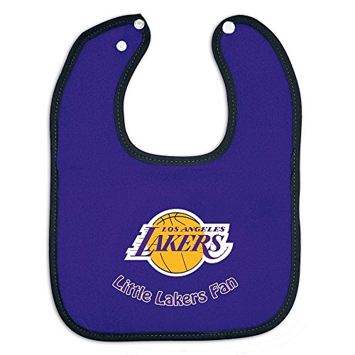 La Lakers Full Color Snap Bib Single - Team Color Body front-742403