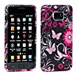 Cooltechstuff Samsung Galaxy S2 II i9100 Soft Silicone Solid Butterfly TPU Print Gel Skins Black Case Cover- Part of Cooltechstuff Store Accessories