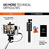 Selfie Stick, Spigen [Battery Free] Wired Selfie Stick for iPhone SE/6S/6S Plus/6/6 Plus/5S/ GalaxyS7/ Galaxy S7 Edge/ Nexus 6p/ LG G5 & More