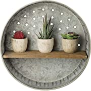 Primitives by Kathy Distressed Wall Shelf, Metal and Wood