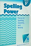 Spelling Power Book F