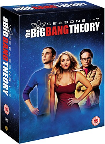 The Big Bang Theory - Season 1-7 [DVD] [2014]