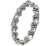 Beautiful Hematite Crystal Magnetic Bracelet for Women. Arthritis. RSI. Carpal Tunnel. Migraines