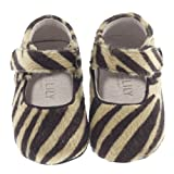 Jack and Lily Zebra Print Baby Shoes