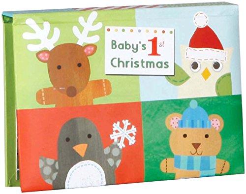 C.R. Gibson Jill McDonald Pop Up Brag Book, Baby's 1st Christmas - 1