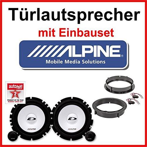 Alpine-Lautsprecher-mit-Einbauset-fr-Skoda-Fabia