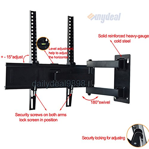 Tv Wall Mount Bracket For Lg Led Smart Google Tv 47Ga7900 32Ln5700 39Ln5700 42Ln5700 47Ln5700 42La6200 47La6200 42Lb6300 47Lb6300 47Ln5750 47La6900 32Lb5800 39Lb5800 42Lb5800 47Lb5800 26Ln4500 32Lb560B 32Lb5600