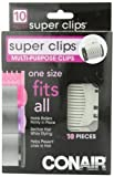 Conair SPC10X Super Clips, 10 Count