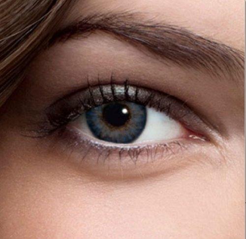 Farbige Kontaktlinsen Monatslinsen in Grau Blau Grün Braun ...