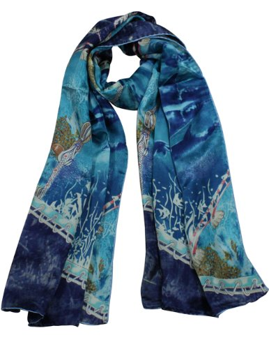 dahlia-womens-100-luxury-long-silk-scarf-world-under-the-sea-blue
