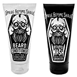 GRAVE BEFORE SHAVE™ Beard Wash & Conditioner Pack