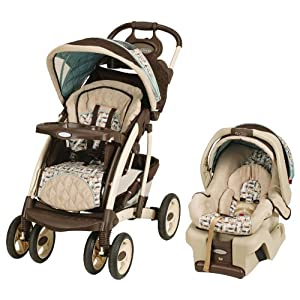 Graco Quattro Tour Travel System with Snugride30, Carlise