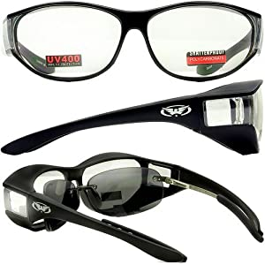 Escort Advanced System Safety Glasses Fits Over Most