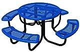 BarkPark Chow Hound Dog Table, Blue