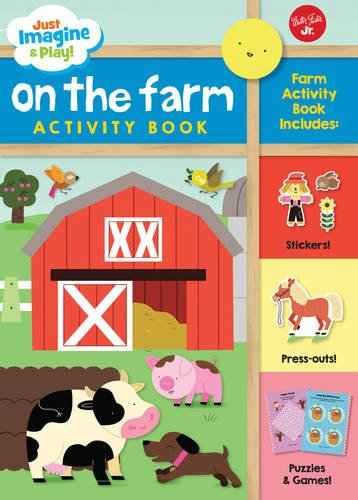 On the Farm: Sticker & punch-out activity book (Just Imagine & Play!) (Chicken Tractor Book compare prices)
