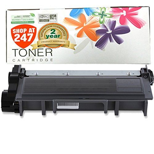 Shop At 247 ® Compatible Brother TN660 HIGH YIELD 2600 pages Black Laser Toner Cartridge for HL-L2320D, HL-L2340DW, HL-L2360DW, HL-L2380DW, MFC-L2700DW, MFC-L2720DW, MFC-L2740DW