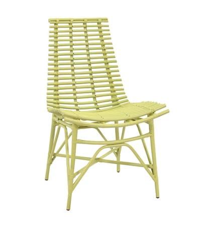 Jeffan Franklin Side Chair, Lime Green