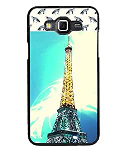 PrintDhaba Tower D-4842 Back Case Cover for SAMSUNG GALAXY GRAND 3 (Multi-Coloured)