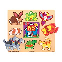 T.S. Shure Chunky World Pets Puzzle Book